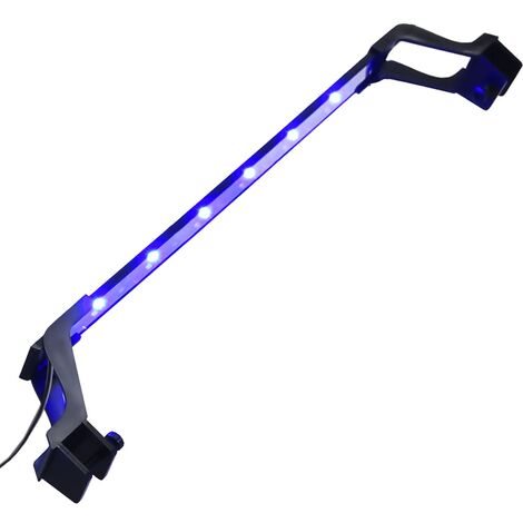 """main image of """"Lampe à LED d'aquarium avec pinces 55-70 cm Bleu et blanc"""""""