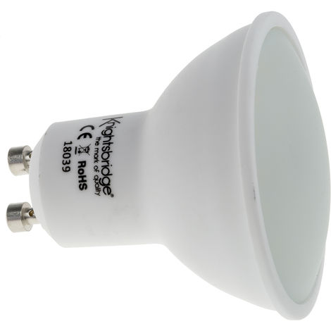 Lampe à Led GU10, 5 W, 2700K, couleur Blanc chaud, 410 lm, 230 V