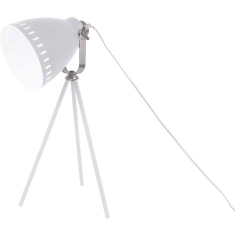 Lampe à poser 3 pieds en métal Mingle Blanc