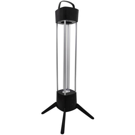 Lampe à Poser avec Tube UVC Germicide 36W pour Désinfection avec Détecteur de Présence Lumière ultraviolette - Lumière ultraviolette