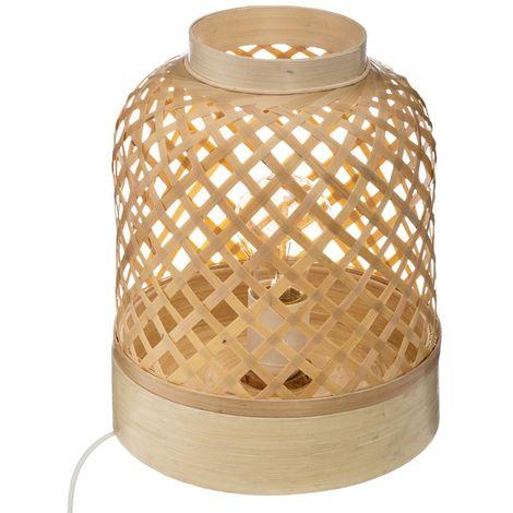 Lampe à Poser Bambou