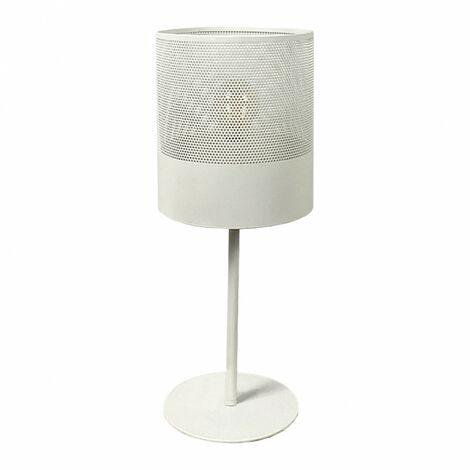 Lampe à poser blanc - MATHILDE 5161 - Blanc