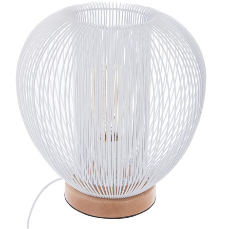 Lampe à poser boule filaire - Atmosphera