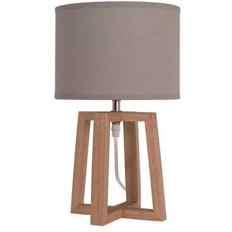 Lampe bois à prix mini