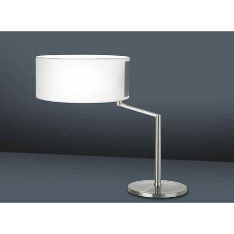 H43 Décentrée À Twist Poser Lampe Blanc Cm WED29HYI