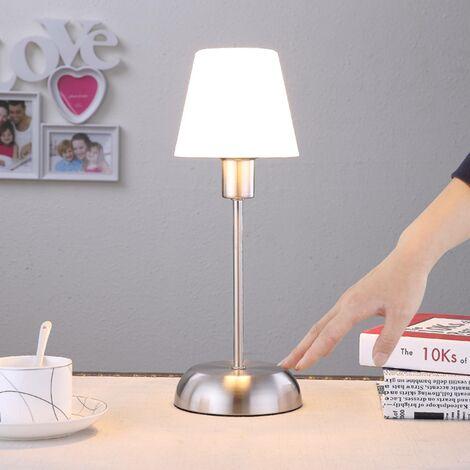 Lampe A Poser En Metal Avec Variateur D Intensite Tactile A