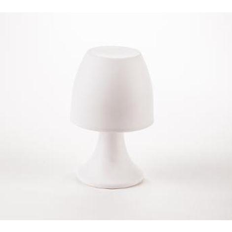 Lampe Polyproplyène ; À 5 Poser Coloris 5 En BlancD12 H19 Cm f6b7gy