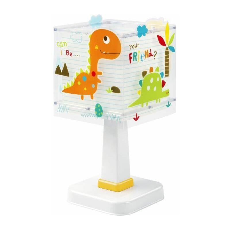 Lampe a poser enfant Dino - Orange