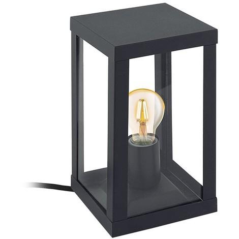 Lampe à poser extérieur ALAMONTE 1 IP44 Noir Mat