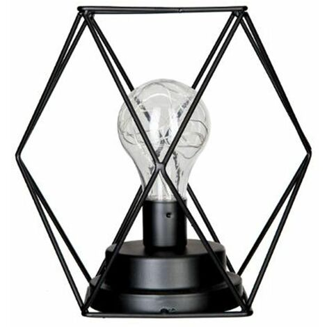 Lampe à poser fil métal microled - Atmosphera