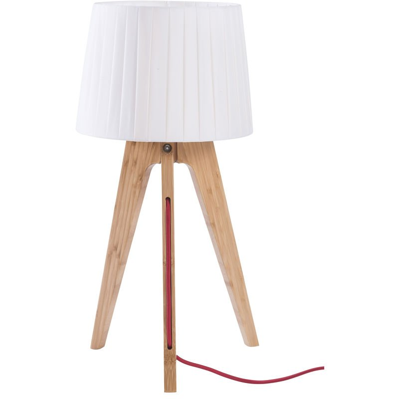 Freya Clair À Poser Lampe Bois hsrdtQC