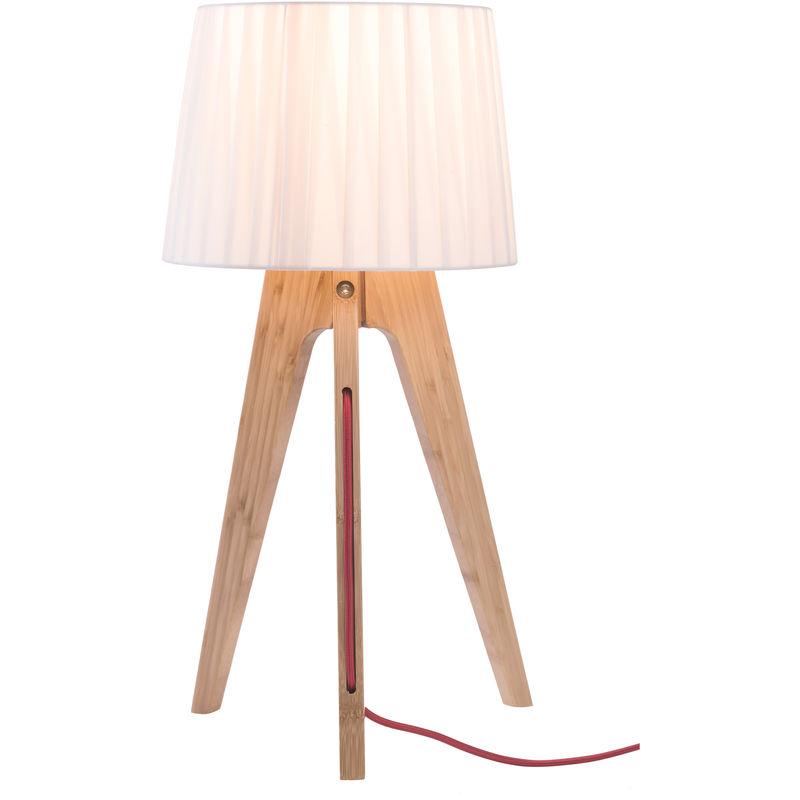 À Poser Lampe Freya Clair Bois O8nPXN0kw