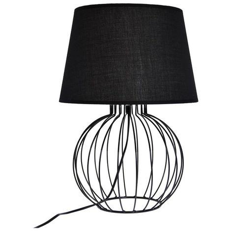 À Poser 4lampezgeonoi101749 Lampe Géométrique Noir IfvYmb7y6g