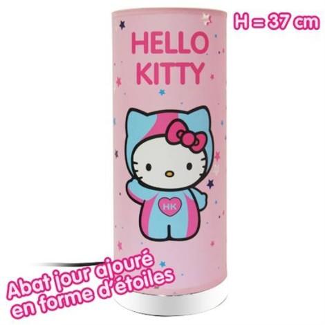 Lampe a poser Hello Kitty étoile
