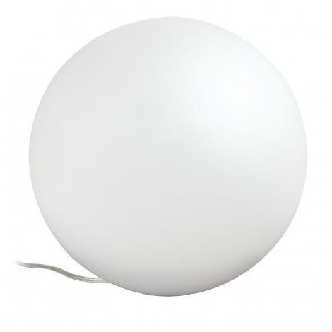 Lampe à poser KIIA - 40W - E14 - 230V - Ronde - Verre - Sans ampoule - Avec connecteur de câble