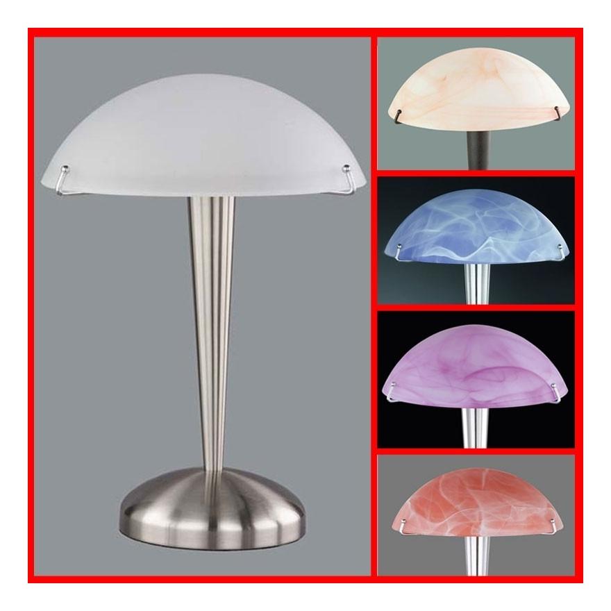 Tactile Métal Darryl Poser Blanc Lampe A VpzMqSU