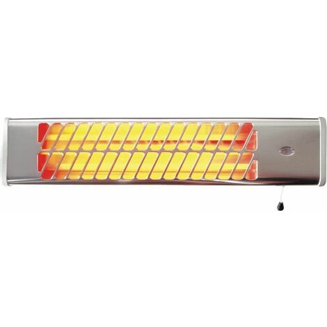 Lampe à rayon infrarouge 1200W, 2 allures