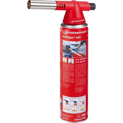 Lampe à souder Gaz ROFIRE 4 Multigas 300 Rothenberger