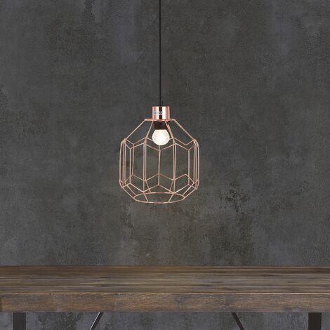 Lampe Salle Manger Luminaire Vintage E27 Pendulaire Suspension À Laiton Plafonnier 9HEDeW2IY