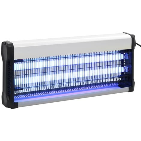 Lampe anti-insectes Noir Aluminium ABS 40 W