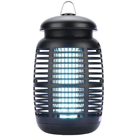 Lampe Anti Moustique, 15W UV Tueur d'Insectes Électrique Anti Insectes Répulsif, Destructeur d' Insectes Piège à Mouches Efficace Portée 80m², Non Toxique pour Intérieur et Extérieur