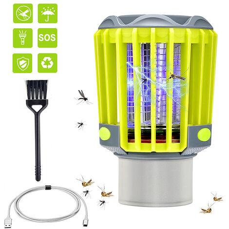lampe anti-moustique led jaune