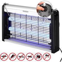 Lampe anti-moustiques LED insectes piège insectes volants 25m² salon maison onde
