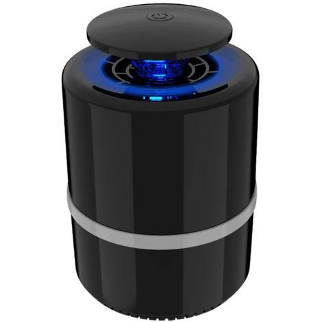 Lampe Anti-Moustiques Uv Led, Technologie D¡¯Aspiration De Photocatalyseur, Noir