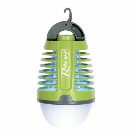 """Lampe antimoustique a batterie 2 en 1 """"LUCIA"""" - Ribimex"""
