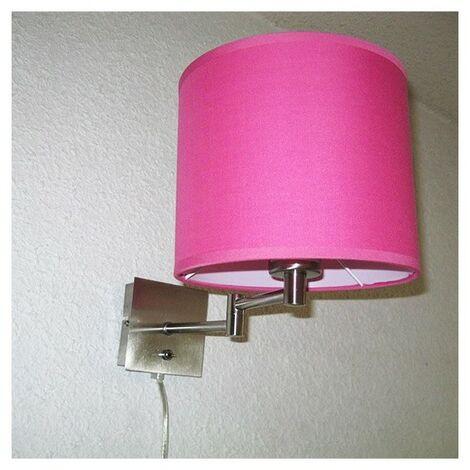 Lampe applique Articulée Nuit Paisible Rose - Rose