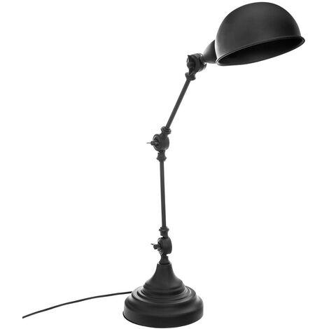 Lampe architecte Basalt noir H55 - Noir