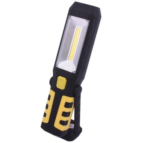 Lampe atelier COB LED 3en1 + USB AKU cob20