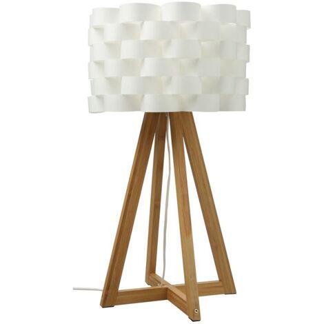 Lampe Bambou papier Moki - H 55 cm