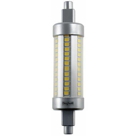 Lampe Beghelli LED R7S 78MM 6W 4000K lumière chaude 56805