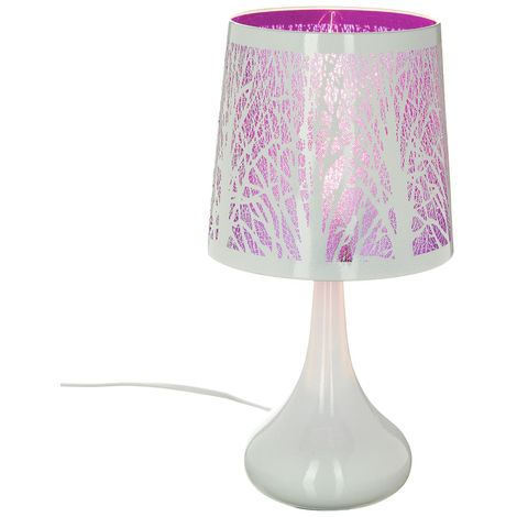 Lampe blanche touch - Atmosphera
