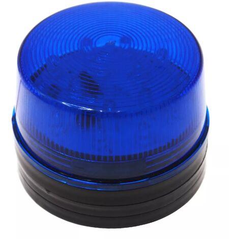 Lampe bleu filaire avec flash stroboscopique 12V