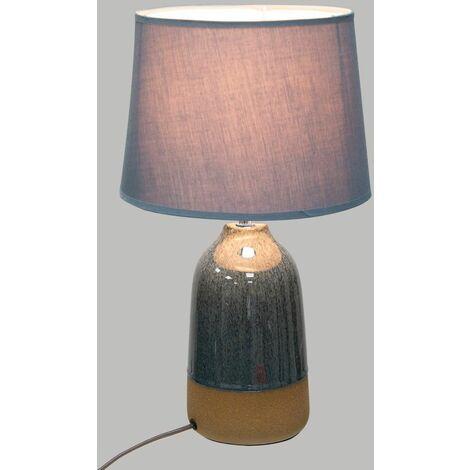 Lampe Céramique Bleu - Bleu