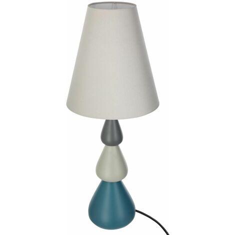 Lampe céramique goutte H54 - Atmosphera