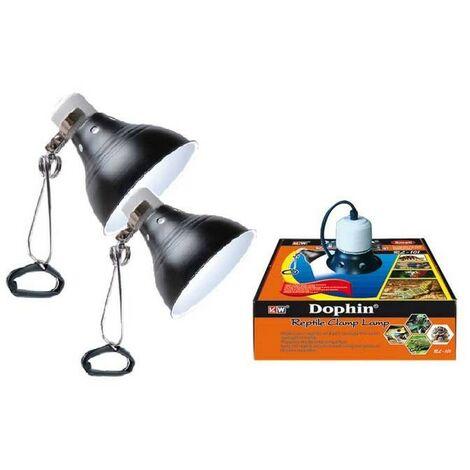 Lampe chauffante 26 cm pour reptiles et terrariums : 150W
