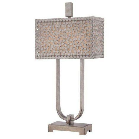 Lampe Confetti Argenté 2x75W E27