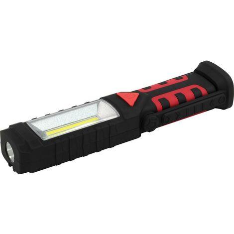 Centrale électrique 32070 Lampe 24+5 DEL Batterie Torche Atelier Lampe USB Li-Ion Lampe