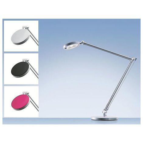 Lampe de bureau à LED – 4YOU - 4,8 Watt - noir, argent, framboise