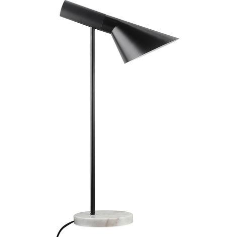 Lampe de bureau Celio - Métal et marbre Noir