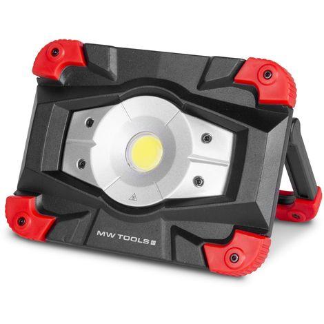 Intégrée 6h Batterie D'autonomie Chantier 20 Lampe W De Et Led Slim 0knwXP8O