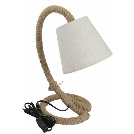 Lampe de chevet Corde - Nos Envies Déco