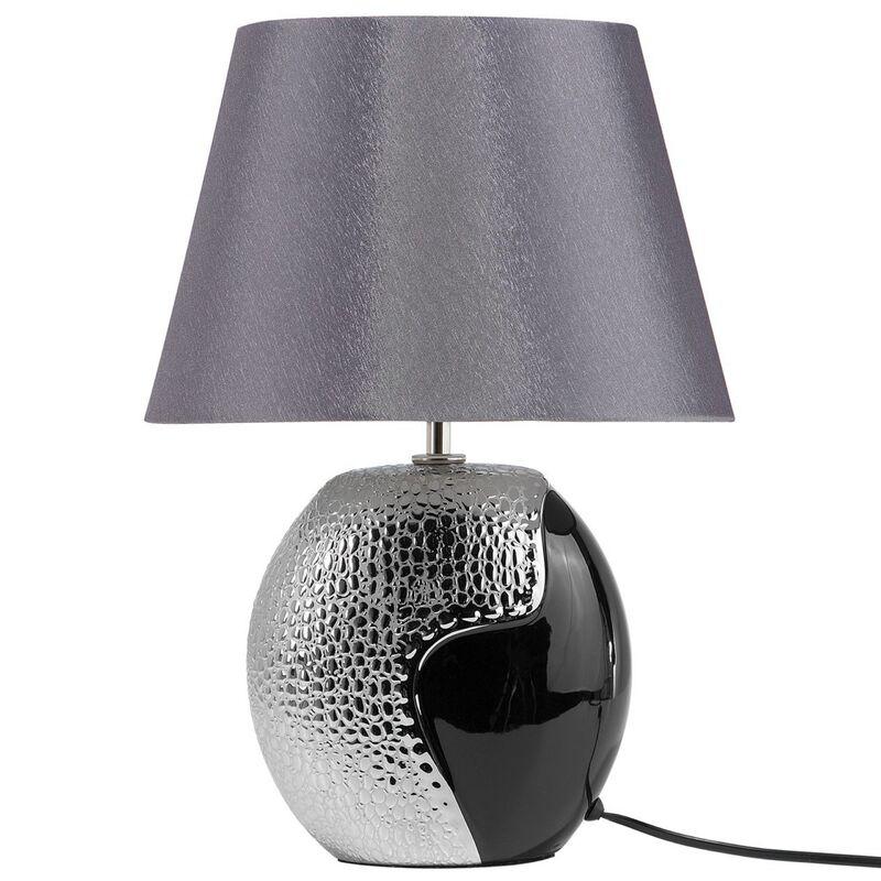 Lampe Argentée Moderne Noire Chevet Et Argun De fgb6yYv7