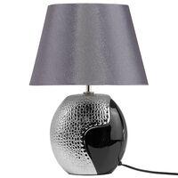 Et Moderne Lampe Argun De Noire Chevet Argentée Iyfg76Ybv