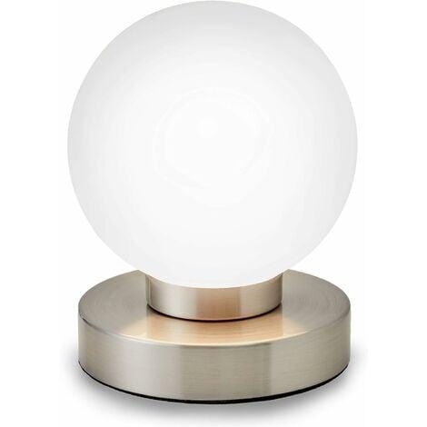 Lampe de chevet tactile 3 intensités, lampe de table avec fonction Touch, liseuse, éclairage de chambre, chambre de bébé, 3 niveaux de luminosité