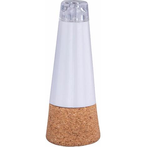 Lampe de décoration à LED Lampe en liège Batterie d'accumulateur USB Éclairage de bouteille de jardinage Globo 28090