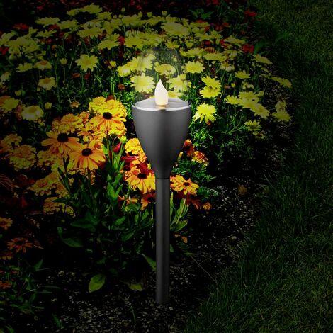 Lampe de jardin solaire Polarlite Mataro jeu de 5 0.25 W noir 5 pc(s)